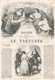 Le Tartuffe : comédie en cinq actes