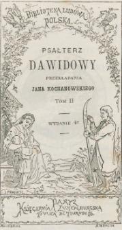 Psałterz Dawidowy. T. 2