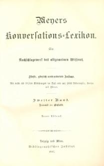 Meyers Konversations-Lexikon : ein Nachschlagewerk des allgemeinen Wissens. Bd. 2 : Asmanit bis Biostatik