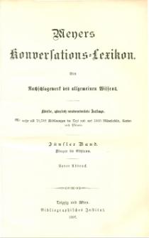 Meyers Konversations-Lexikon : ein Nachschlagewerk des allgemeinen Wissens. Bd. 5 : Dinger bis Ethicus
