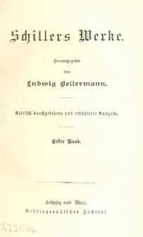 Schillers Werke. Bd. 1