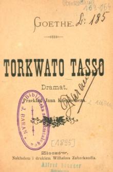 Torkwato Tasso : dramat