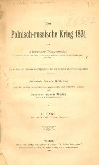 Der polnisch-russische Krieg 1831. Bd. 2
