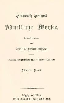 Franz. Zustände ; Rom. Schule etc.