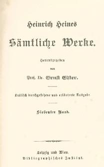 Ludwig Börne ; Prosaische Nachlese