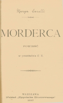 Morderca : powieść