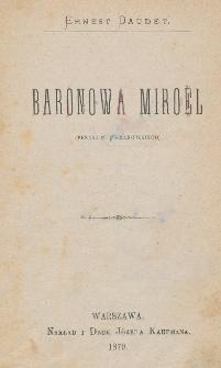 Baronowa Miroël