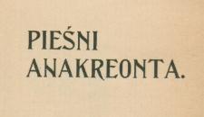 Pieśni Anakreonta