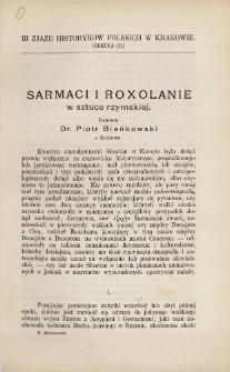 Sarmaci i Roxolanie w sztuce rzymskiej