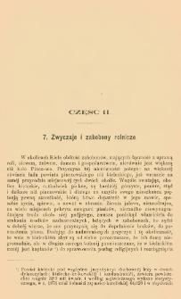 Materyjały do etnografii ludu polskiego z okolic Kielc. Cz. 2