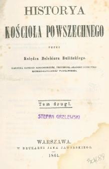 Historya kościoła powszechnego. T. 2
