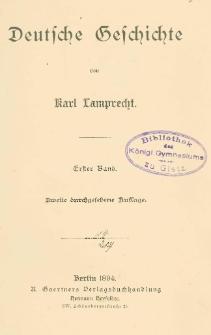 Deutsche Geschichte. Bd. 1