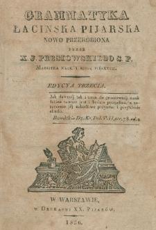 Grammatyka łacińska pijarska