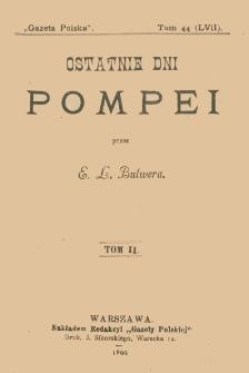 Ostatnie dni Pompei. T. 2