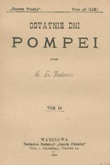 Ostatnie dni Pompei. T. 4