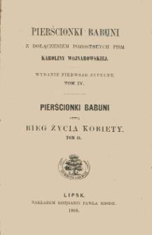 Pierścionki babuni czyli Bieg życia kobiety. T. 2