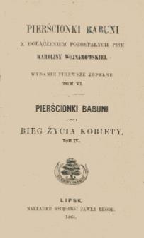 Pierścionki babuni czyli Bieg życia kobiety. T. 4