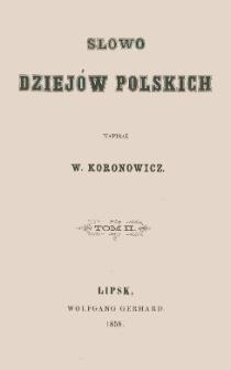 Słowo dziejów polskich. T. 2