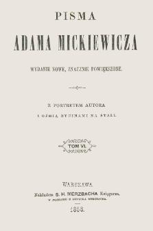 Pisma Adama Mickiewicza. T. 6