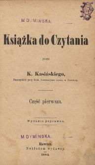 Książka do czytania Cz. 1