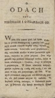 Wybor różnych gatunków poezyi z rymopisow polskich dla użytku młodzieży Cz. 2