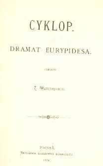 Cyklop : dramat