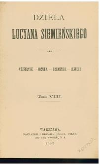 Wieczornice ; Mozaika ; Brodziński ; Okruchy