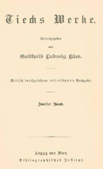Tiecks Werke Bd. 2