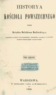 Historya kościoła powszechnego T. 6