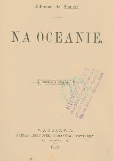 Na oceanie
