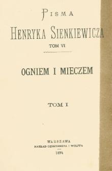 Ogniem i mieczem : powieść z lat dawnych. T. 1