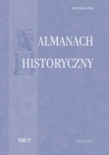 Źródła do dziejów parafii Rembieszyce z pierwszej połowy XIX wieku (spis funduszu plebanii i protokół wizytacji dziekańskiej)