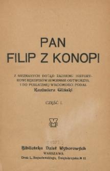 Pan Filip z Konopi