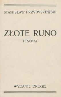 Złote runo : dramat