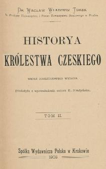Historya Królestwa Czeskiego. T. 2
