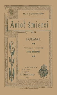 Anioł śmierci : poemat