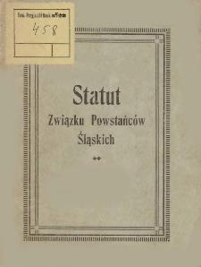 Statut Związku Powstańców Śląskich