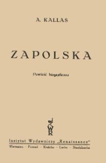 Zapolska : powieść biograficzna