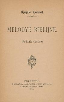Melodye biblijne