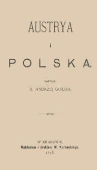Austrya i Polska