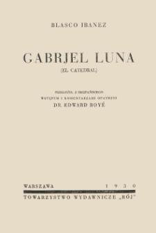 Gabrjel Luna = (El catedral)