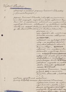 Papiery Emila Zegadłowicza dotyczące Ministerstwa Sztuki i Kultury – sprawozdania Wydziału Literatury