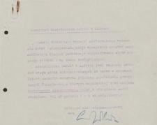 Papiery Emila Zegadłowicza dotyczące Ministerstwa Sztuki i Kultury – komunikaty MSiK i Wydziału Literatury
