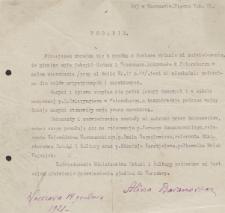 Papiery Emila Zegadłowicza dotyczące Ministerstwa Sztuki i Kultury – pisma, podania, listy, które wpłynęły do ministerstwa