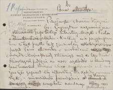 Papiery Emila Zegadłowicza dotyczące Ministerstwa Sztuki i Kultury – bruliony pism, omówień, recenzji