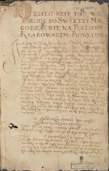 Silva rerum z XVI-XVIII w.
