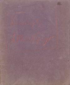 """Katalog """"Kwasoryty Ludwika Misky'ego wykonane w Krakowie w roku 1914, 1915, 1916""""."""
