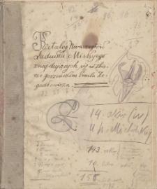 Katalog kwasorytów Ludwika Misky'ego znajdujących się w zbiorze gorzeńskim Emila Zegadłowicza
