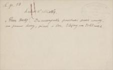 Fragment katalogu obrazów i rysunków Ludwika Misky'ego