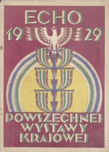 Echo Powszechnej Wystawy Krajowej w Roku 1929, R 2, 1928, nr 11 (1 XI)
